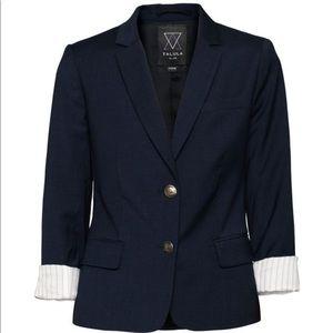 TALULA Aritzia Fitted Oxford Exeter Blazer Jacket